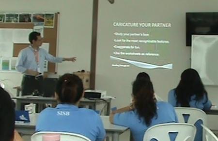 Teacher Lem's Caricature Workshop.